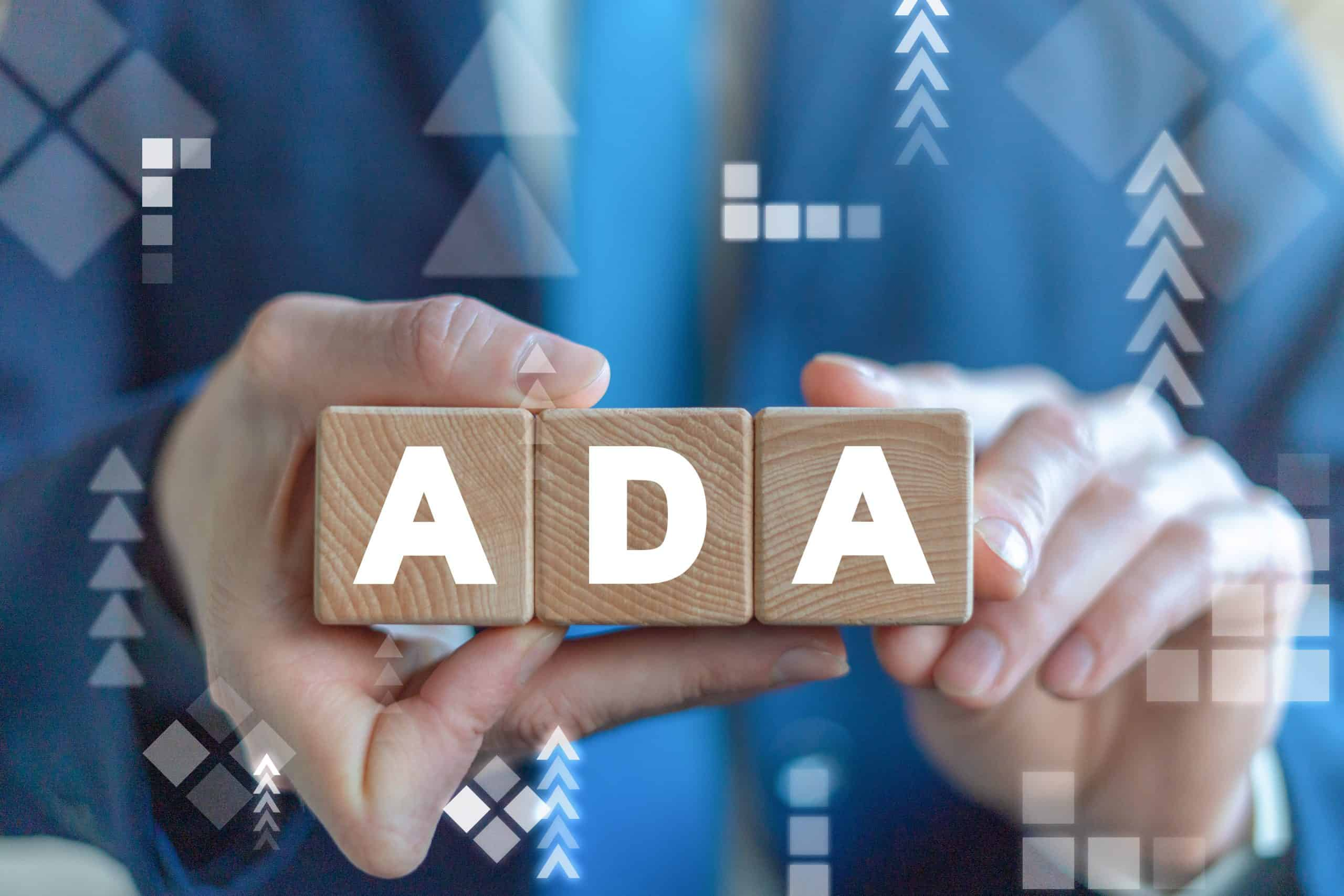 ADA Americans with Disabilities Act Concept.